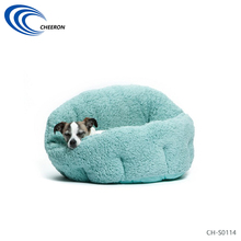 Custom lovely plush soft warm medium pet bed