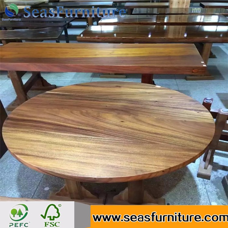 best price High Quality Light Bamboo Table top Solid Wood Worktop for wholesale