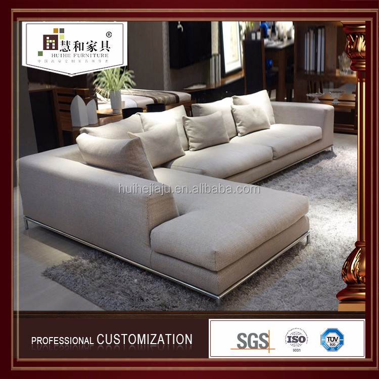 Wholesale Living Room Sofas /Fabric Sofa Bed/ Grey Fabric Sofa Sale
