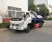 Vip Vacuum Truck Manufacturer offer Diesel Fuel type Small Septic Tank Suction Truck for sale