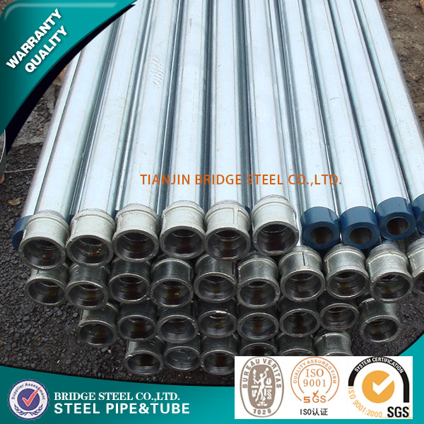 galvanized iron pipe price/BS1387 gi pipe full form/round galvanized steel pipe