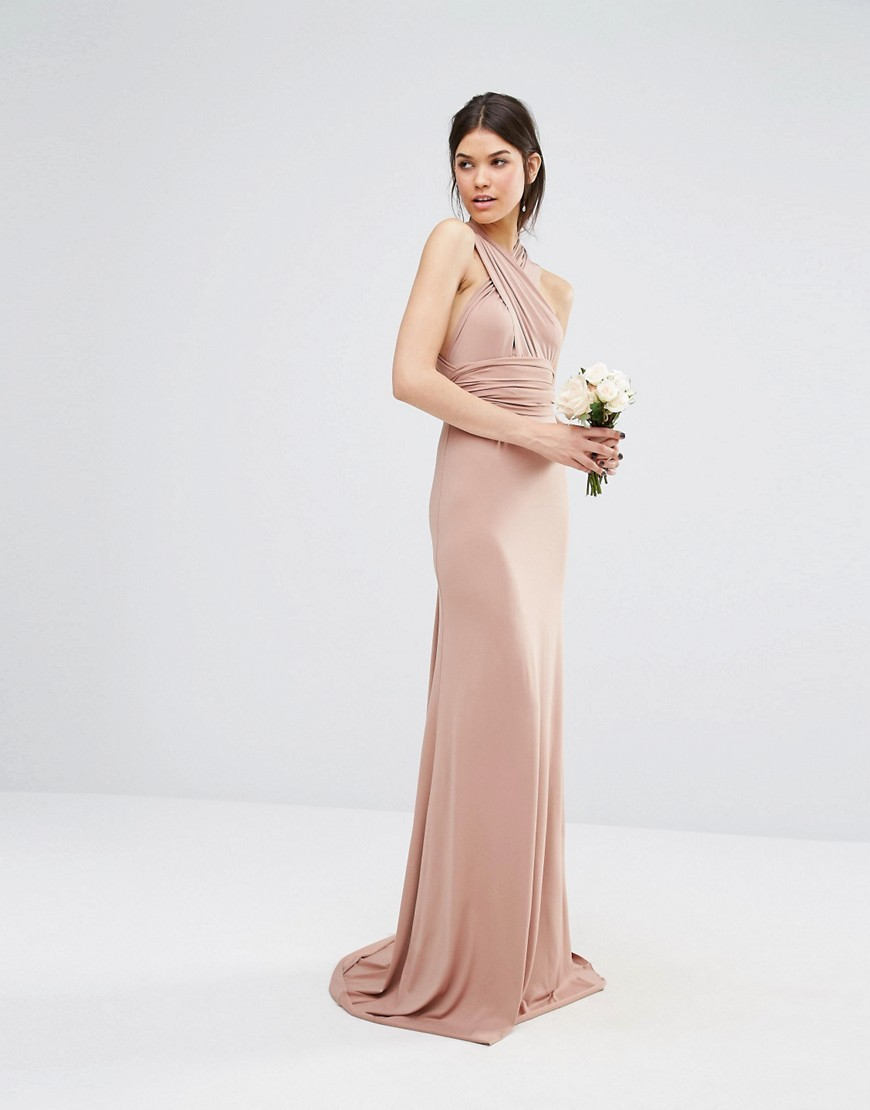 Small Quantity Wholesale High Quality Summer Women Wedding Multiway Fishtail Maxi Dress