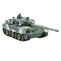 Chenghai Toys 1/28 chian 96 remote tank with auto demo