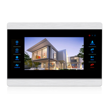 10 inch 4 wire Video door intercom system with drawing aluminum case