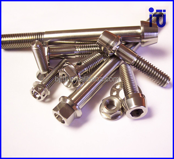 6al4v Titianium Ti Custom Cap Bolt M16 titanium fasteners uk surgical implants titanium plates and screws
