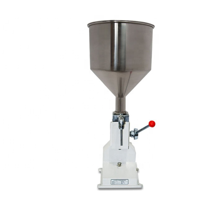 Good Selling <strong>A03</strong> Manual Toothpaste Gel Filling Machine