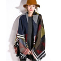 2015 Women's Winter cashmere cape shawl scarf pashmere poncho