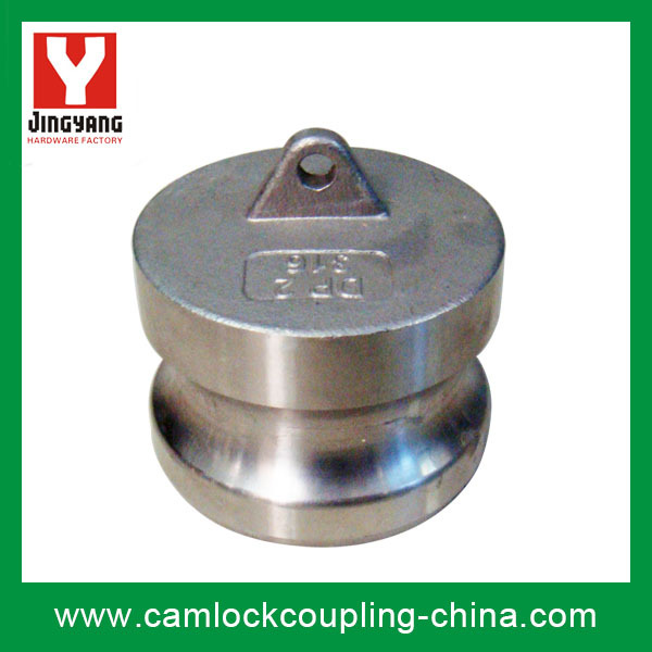 Stainless steel camlock coupling e cam and groove fitting