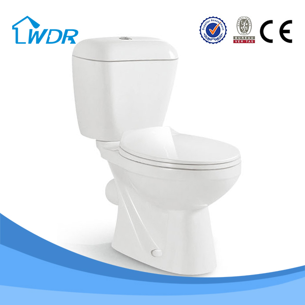Chinese manufacturer two-piece sanitary s-trap bathroom ceramic shower toilet unit