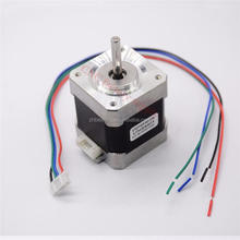 Free shipping 4-lead Nema 17 Stepper Motor 42 motor 17HS8401 1.8A CE CNC Laser and 3D printer