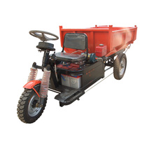 Licheng self-unloading mini dumper truck cargo tricycle/electric cargo bicycle trike/adult electric trike with power motor