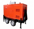50KW / 63KVA Mobile Power Supply Portable Silent Power Generator