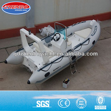 CE! 2014 the newest rigid inflatable boat for fishing camping diving