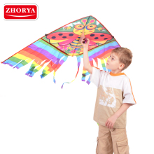 chinese promotional kids nylon butterfly kite