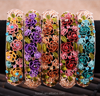 2015 china new style fashion jewelry elaborate carving bracelet for stock