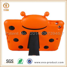 New Arrival Kids Friendly Rugged Hybrid Shockproof Stand Cover for iPad Air