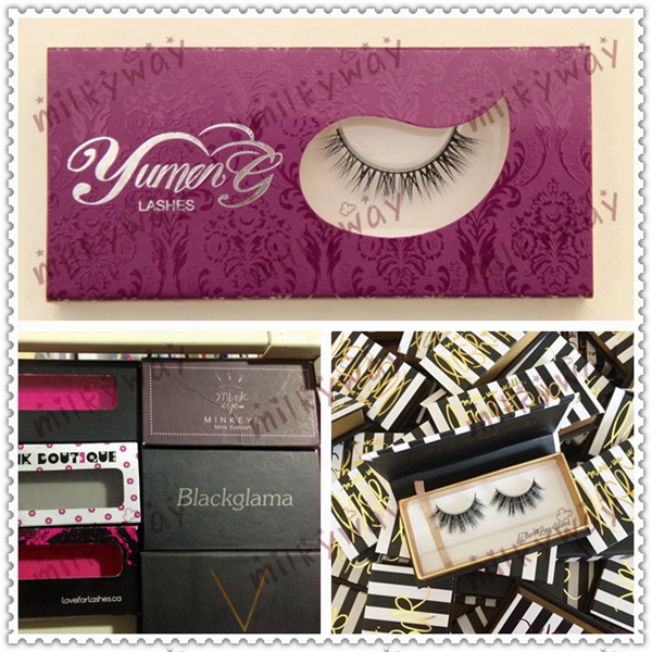 Milkyway professional handcrafted thick long horse hair lashes
