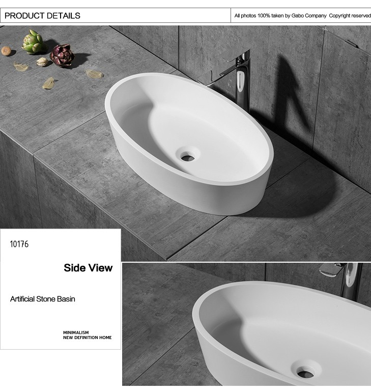 Classic artifical stone basin