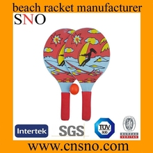 Beach Paddle Ball Sets / Wooden beach bats