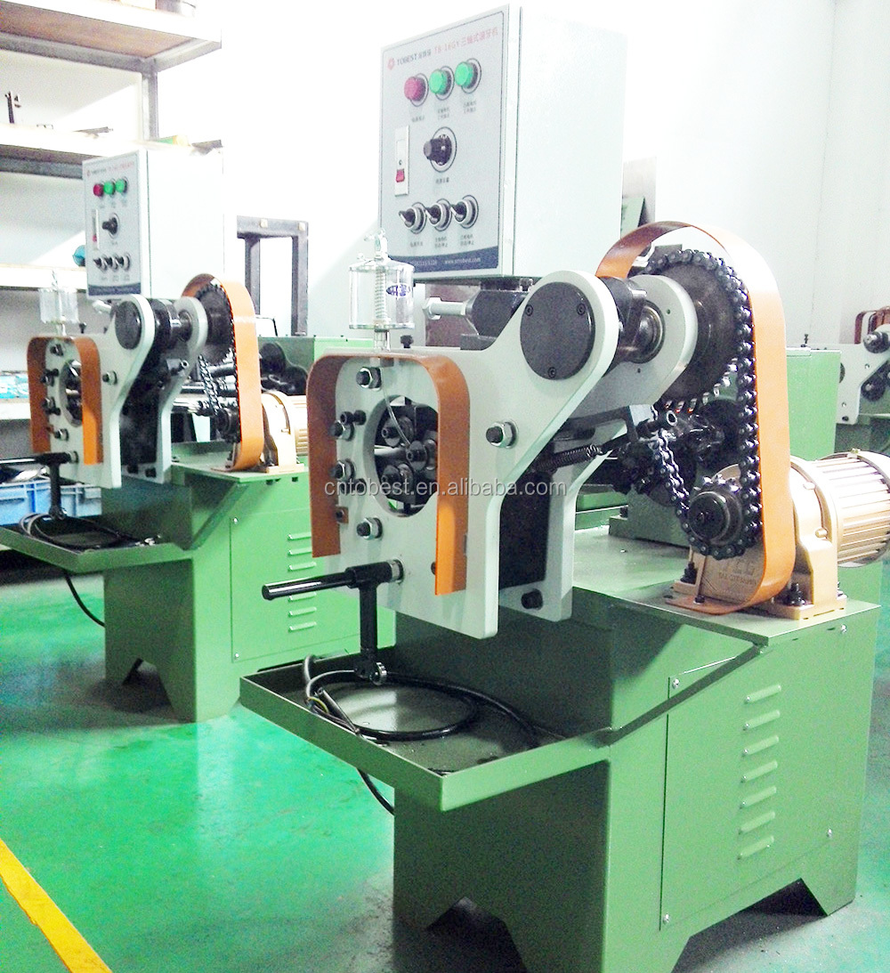 automatic pipe threading machine tube screw making machine