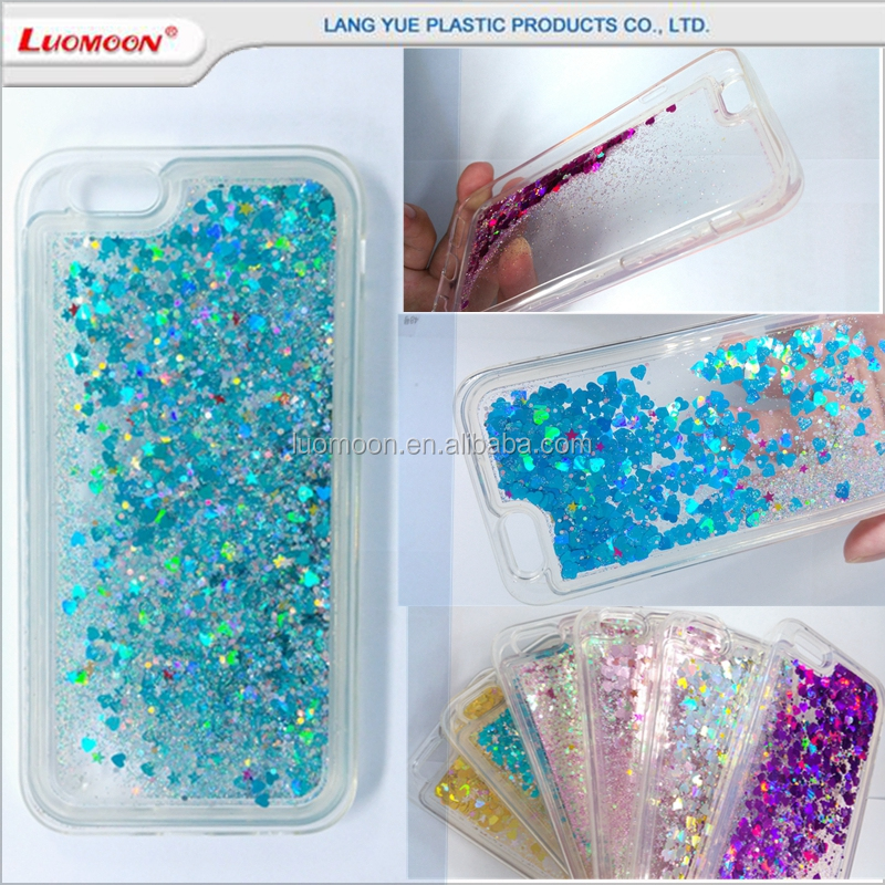 liquid glitter cell mobile phone bumper case for HTC desire one e9s A M X E D 7 8 9 10 + 728 620 626 816 828