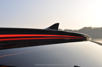 Hyundai Elantra 2014(The New Avante) LED Illuminated Rear Glass Wing Roof Spoiler Long Type