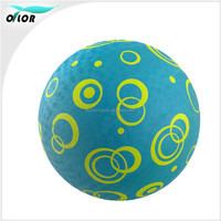 Cartoon pattern custom printed inflatable rubber balls