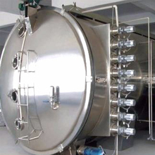 Low Temperature continuous vacuum conveyor belt dryer