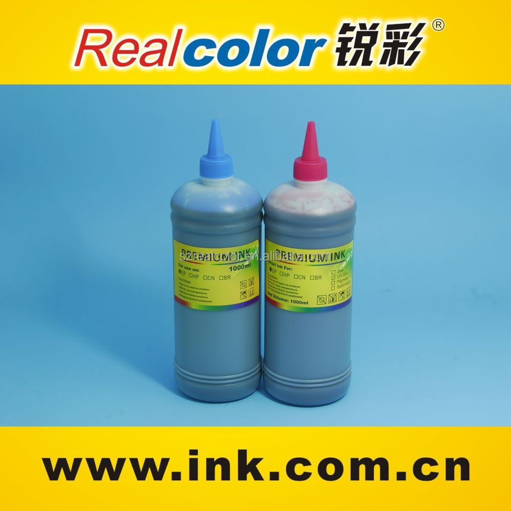 1000ml bottle for hp pigment ink waterproof bulk ink