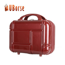 famous luggage brands cosmetic case plastic vanity case travel bag classic bag