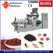 Twin screw extruder fully automatic fish feed machine