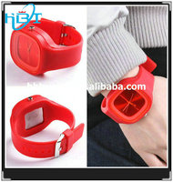 2014 new fashion hotselling silicone rubber otm watches