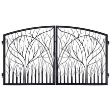 Decorative Steel Gate Frames and Gate Braces for Fence