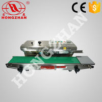 Hongzhan CBS low price durable Continuous poly sealer with solik-ink coding function