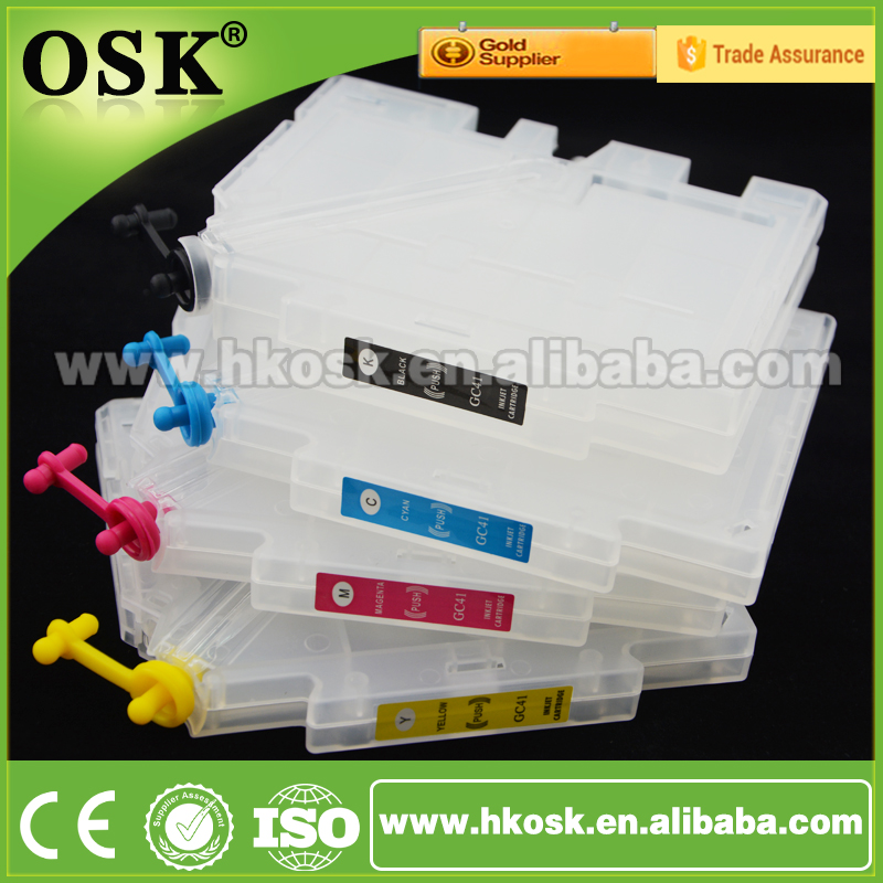 GC21 ink cartridge For Ricoh GX3050SFN GX3050N GX3000SFN Refill ink cartridge with Reset chip
