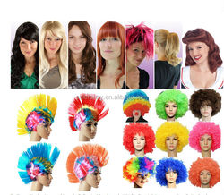 Fashion Cheap Synthetic Party Wig Carnival Wig Halloween Wig QPWG-2001