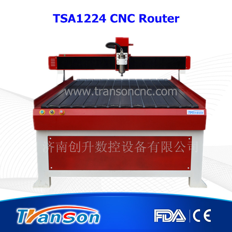 Professional TSA 1224 wood carving router cnc machine (1200mm*2400mm)