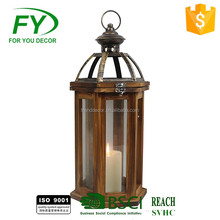 morrocan hurricane decorative wooden lanterns candle holder