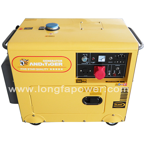 Best Small Home Use 5kw Silent Diesel Generarator For Sale