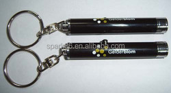 Projector led keychain torch / logo projector led key rings / led keyring light