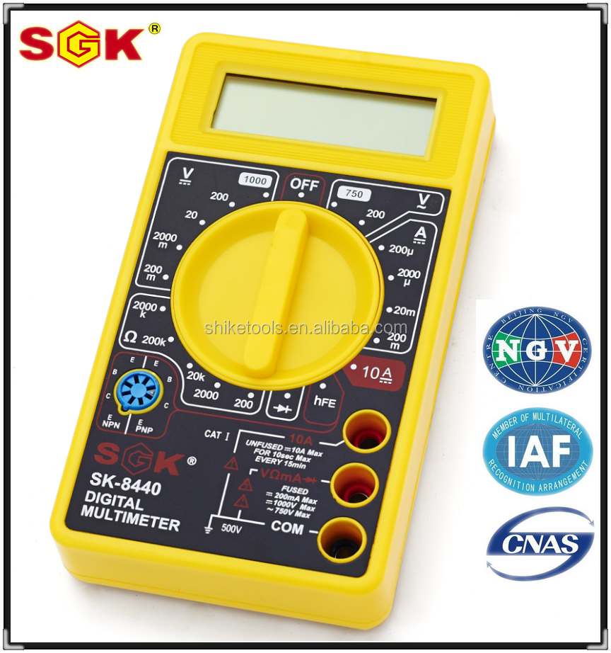 SHIKE Brand High grade Digital multimeter(Without battery)