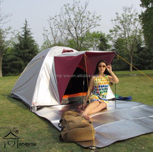 4 person canvas camping tent wind resistant tent fishing tent outdoor