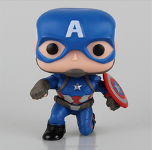 make custom plastic funko pop the avenger action figure desk toys