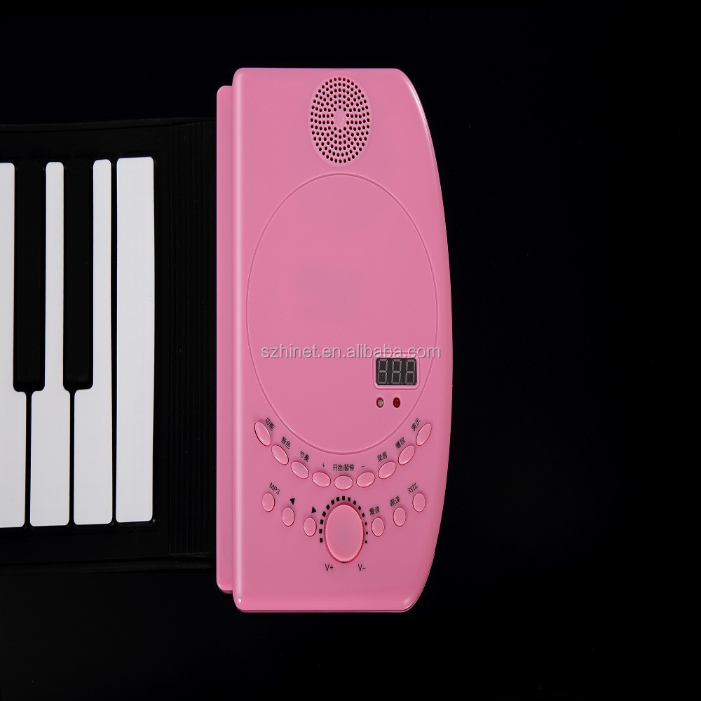 Soft Roll Up Electronic Flexible 61 Keys Keyboard Piano