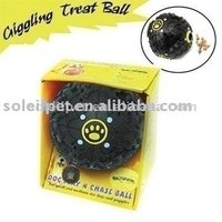 PET PRODUCT-PLAY-N-TREAT GIGGLING BALL, LARGE(V5120)