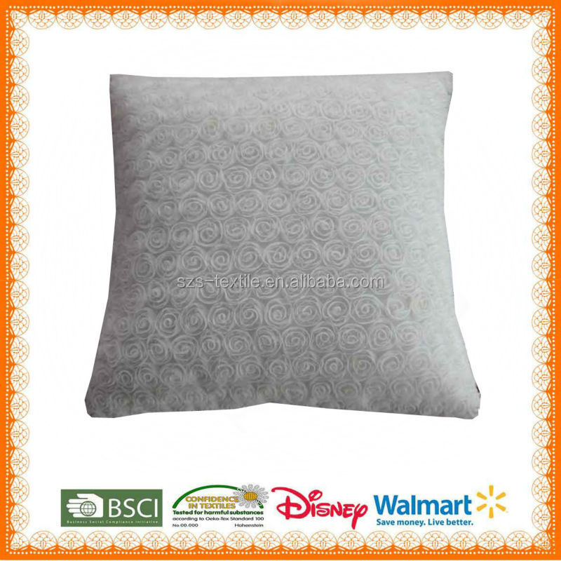 plain organic cotton cushion cover