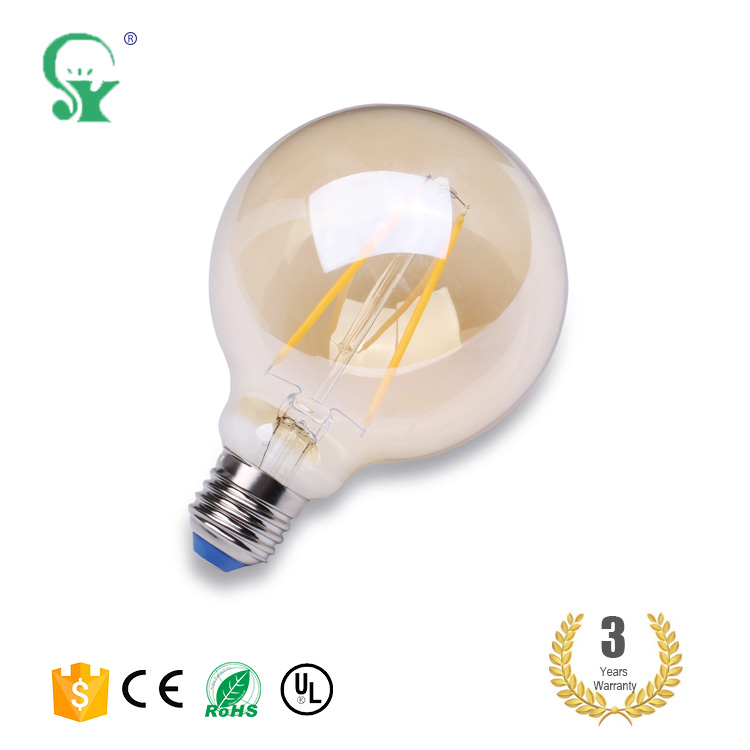 Hot selling 2017 low cost high luminous led bulb e27 400 lumen globe
