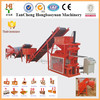 Big discount HBY 2-10 interlocking brick making machine / mud brick making machine / clay brick making machine