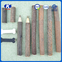 2016 Top selling products school supplies wooden ball pens with custom logo for students gift