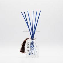 Shenzhen factory supply blue rattan reed sticks for diffuser/fragrance diffuser wooden sticks